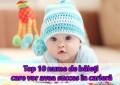 Top 10 nume de băieți care vor avea succes în carieră