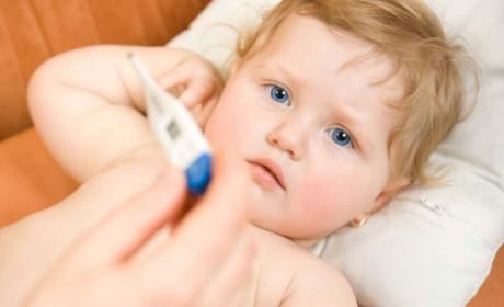 Febra la copii – ce trebuie să facem?