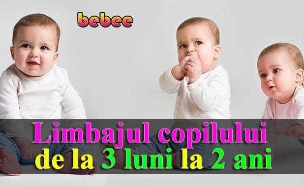 Limbajul copilului de la 3 luni la 2 ani – ce semnale ne dă