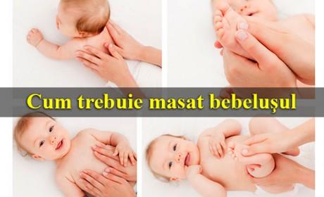 Cum trebuie masat bebeluşul