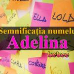 numele Adelina