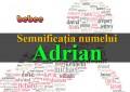 Semnificația numelui Adrian