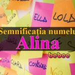 numele Alina