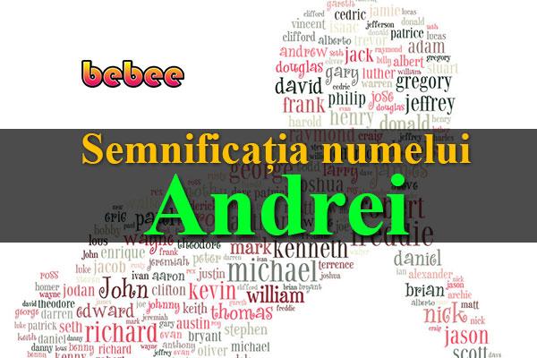 Semnificația numelui Andrei