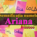 nume Ariana