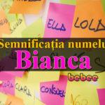 numele Bianca