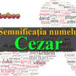numele Cezar