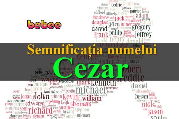 Semnificația numelui Cezar