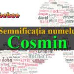 numele Cosmin