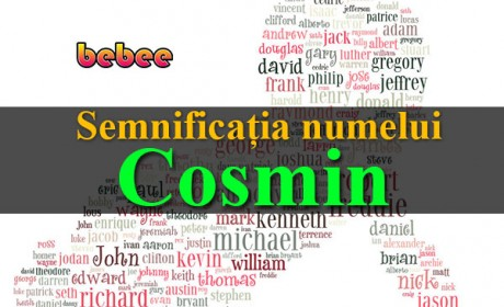 Semnificația numelui Cosmin