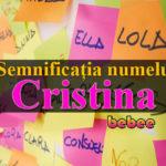 nume Cristina