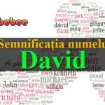 numele David