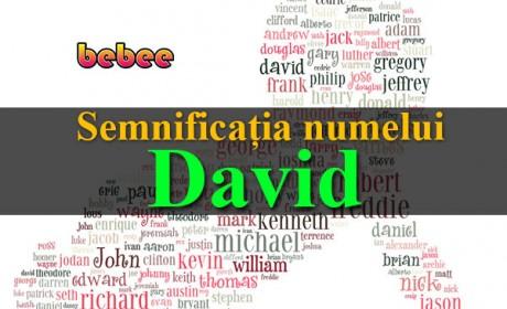 Semnificația numelui David