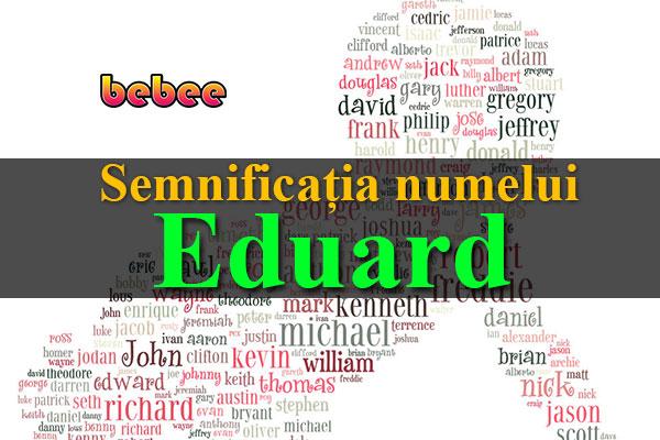 Semnificația numelui Eduard