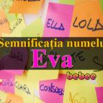 numele Eva