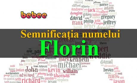 Semnificația numelui Florin