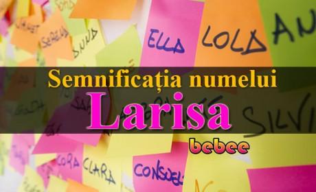 Semnificația numelui Larisa