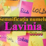 numele Lavinia