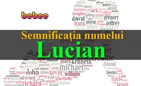 Semnificația numelui Lucian
