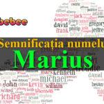 numele Marius