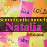 numele Natalia