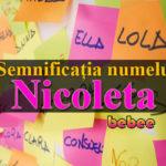 nume Nicoleta