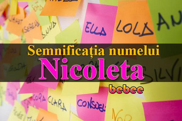 Semnificația numelui Nicoleta