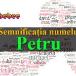 numele Petru