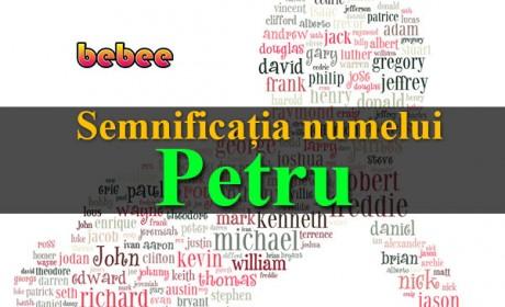 Semnificația numelui Petru