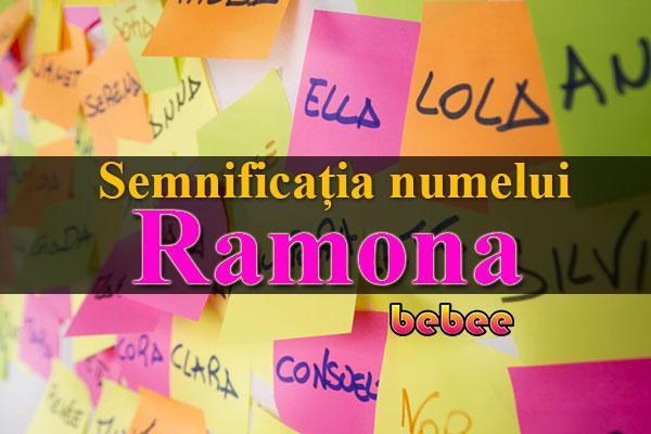 Semnificația numelui Ramona