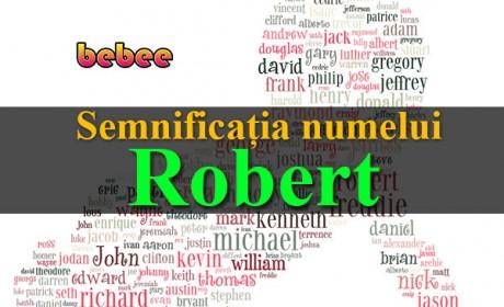Semnificația numelui Robert
