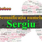 numele Sergiu