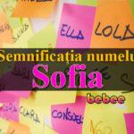 nume Sofia