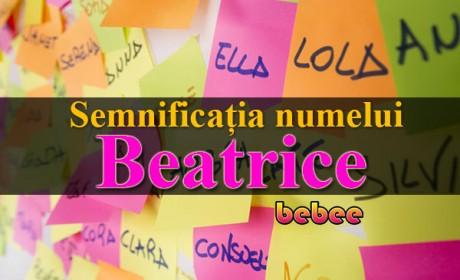 Semnificația numelui Beatrice