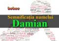 Semnificația numelui Damian