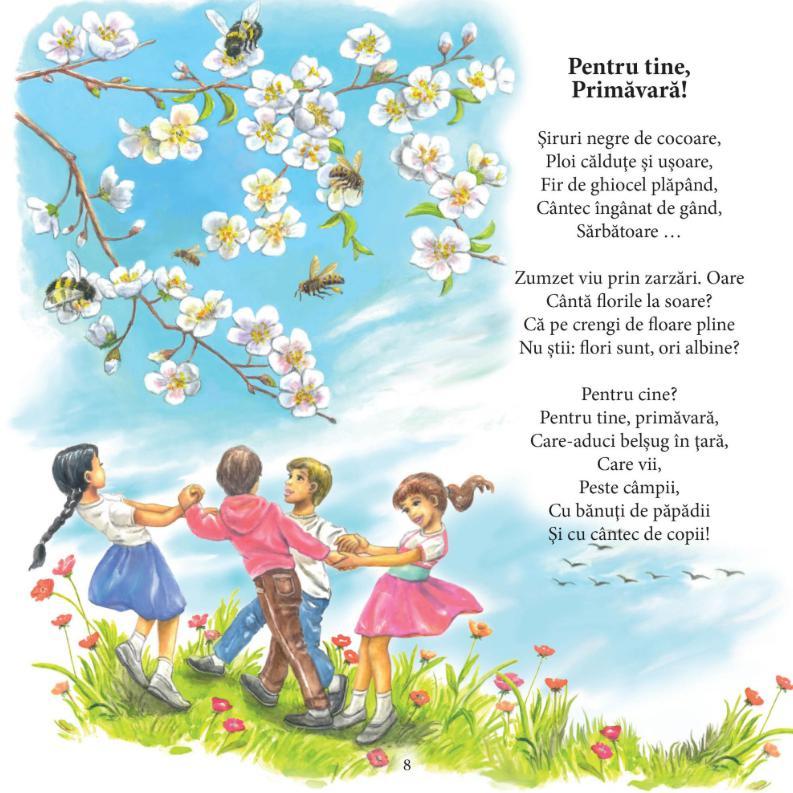 Poezii pentru copii de grădiniță și școlari