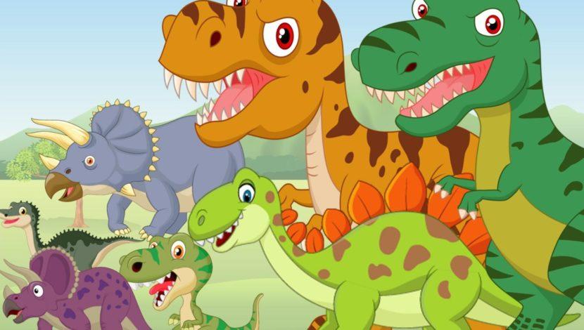 Desene cu dinozauri